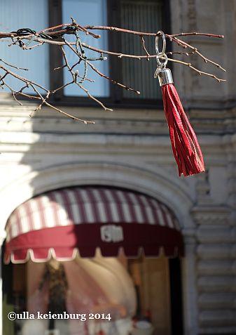 abhängen vor dem luxuskaufhaus