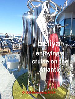 beliya on the ship