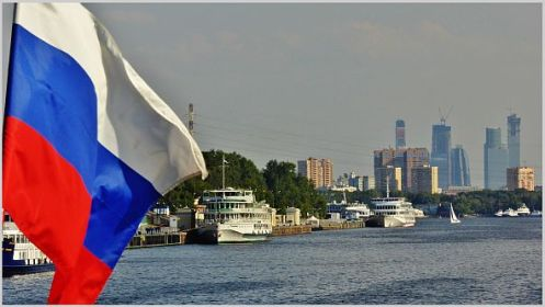 moscow city vom fluss